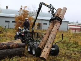 Vyvážačka za štvorkolku alebo malotraktor