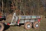 Multifunkčné vyvážačka za malotraktory