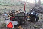 Vozíky za štvorkolky a malotraktory
