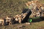 Sklápacie vozík za ATV alebo malotraktor