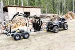 Vyvážačka za malotraktor