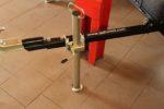 Oporná nôžka prívesu za ATV