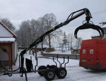 Vyvážačka za štvorkolku Vahva Jussi 2000+